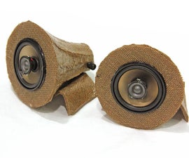 Burlap Speakers