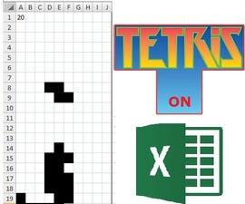 Tetris on Excel
