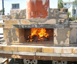 How to Build a Temporary Wood-fired Brick Pizza Oven with Cheap, Easy to Find Materials