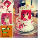 anime cupcake