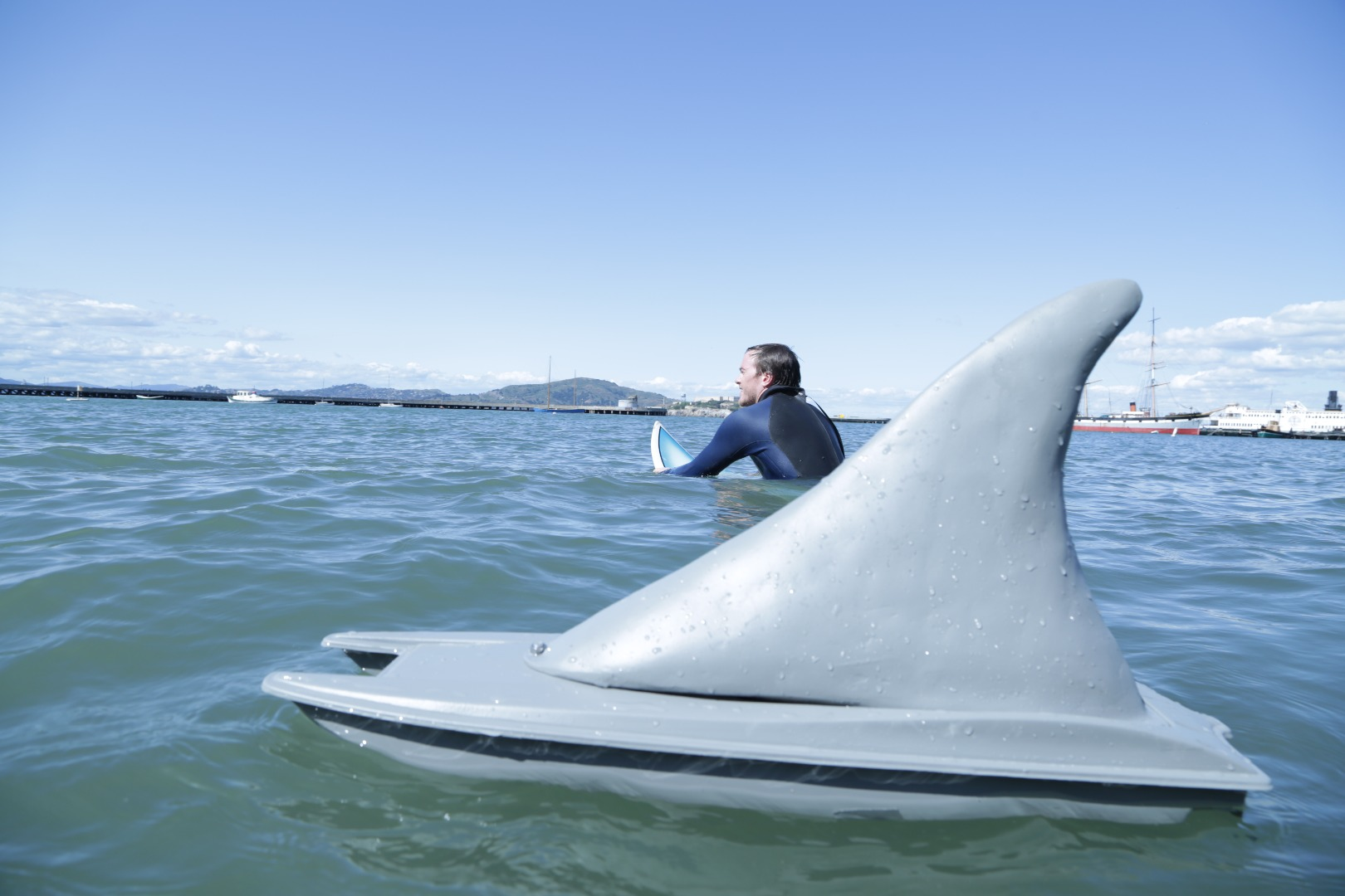 Picture of RC Shark Boat Prank
