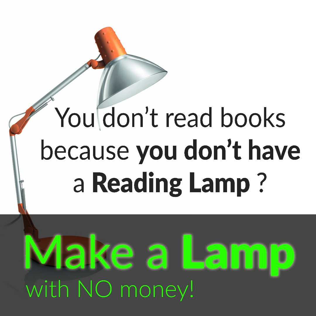 Picture of Make an Amazing Reading Lamp