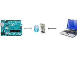 Arduino : Reading Sensor Data Using Bluetooth