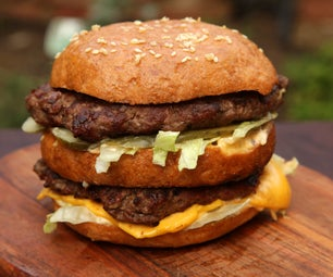 How to Cook a McDonalds Big Mac (But Better)