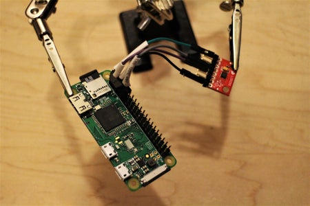 Connect the Accelerometer to the Pi's GPIO
