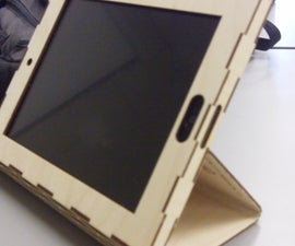 Wooden IPad 2 case