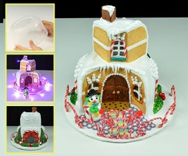 Polymer Clay Sweet Candy House