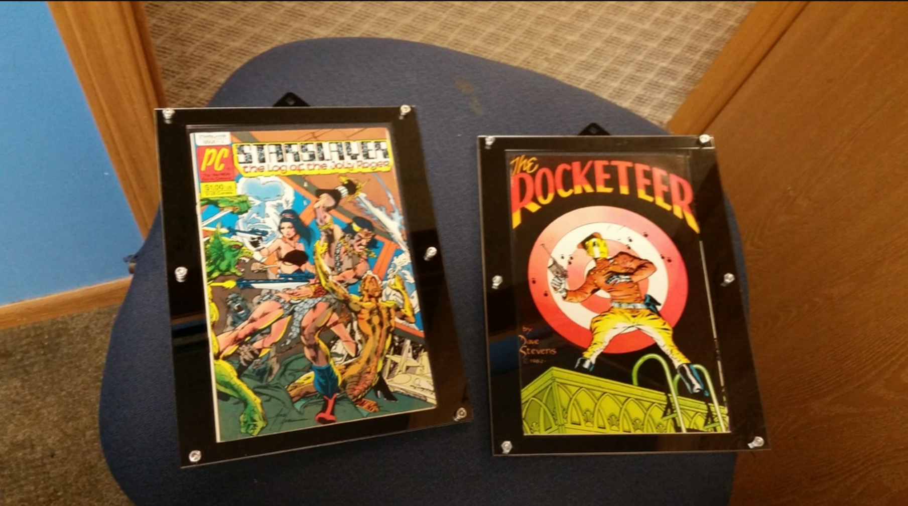 Picture of Laser Comic Book Frame