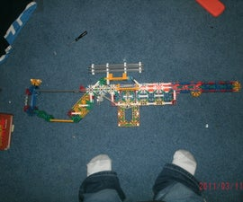 Knex Shell Ejecting Sniper Rifle