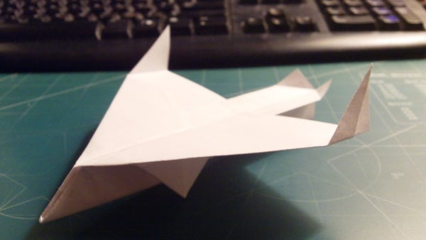 How to Make the Sparrowhawk Paper Airplane