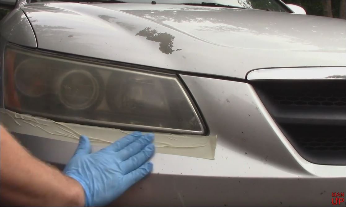 Picture of Mask Off the Headlight