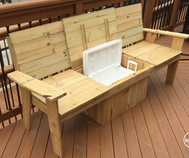 The Most Amazing Cooler Bench Ever