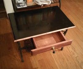 Treadle Table