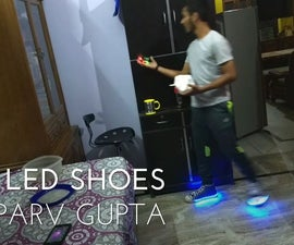 LED SHOES (EASY TO MAKE)