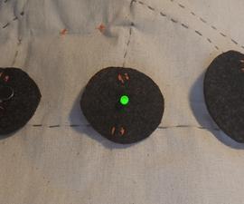 Blinking Electronic Textile Bag