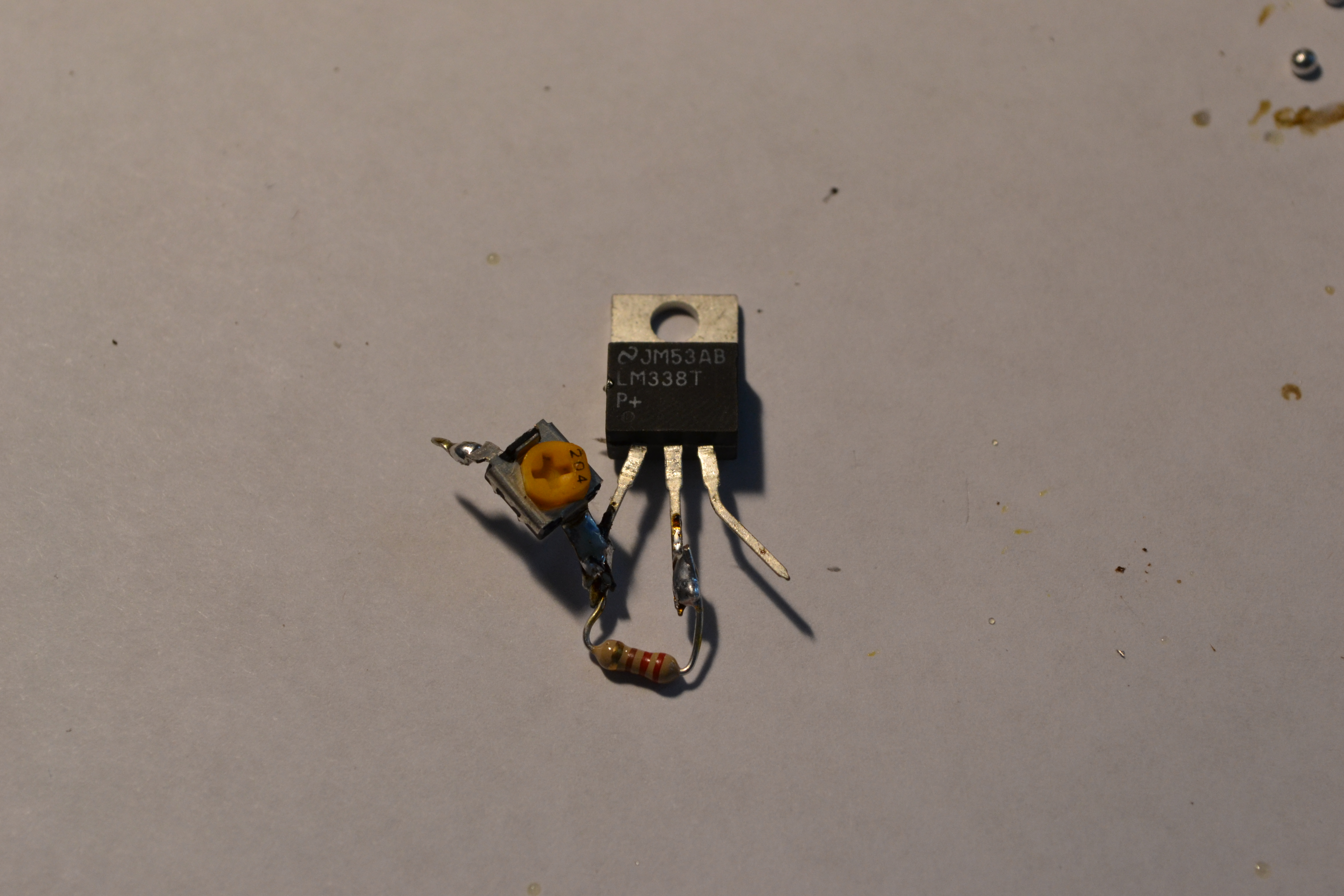 Picture of Add in the Variable Resistor (potentiometer)