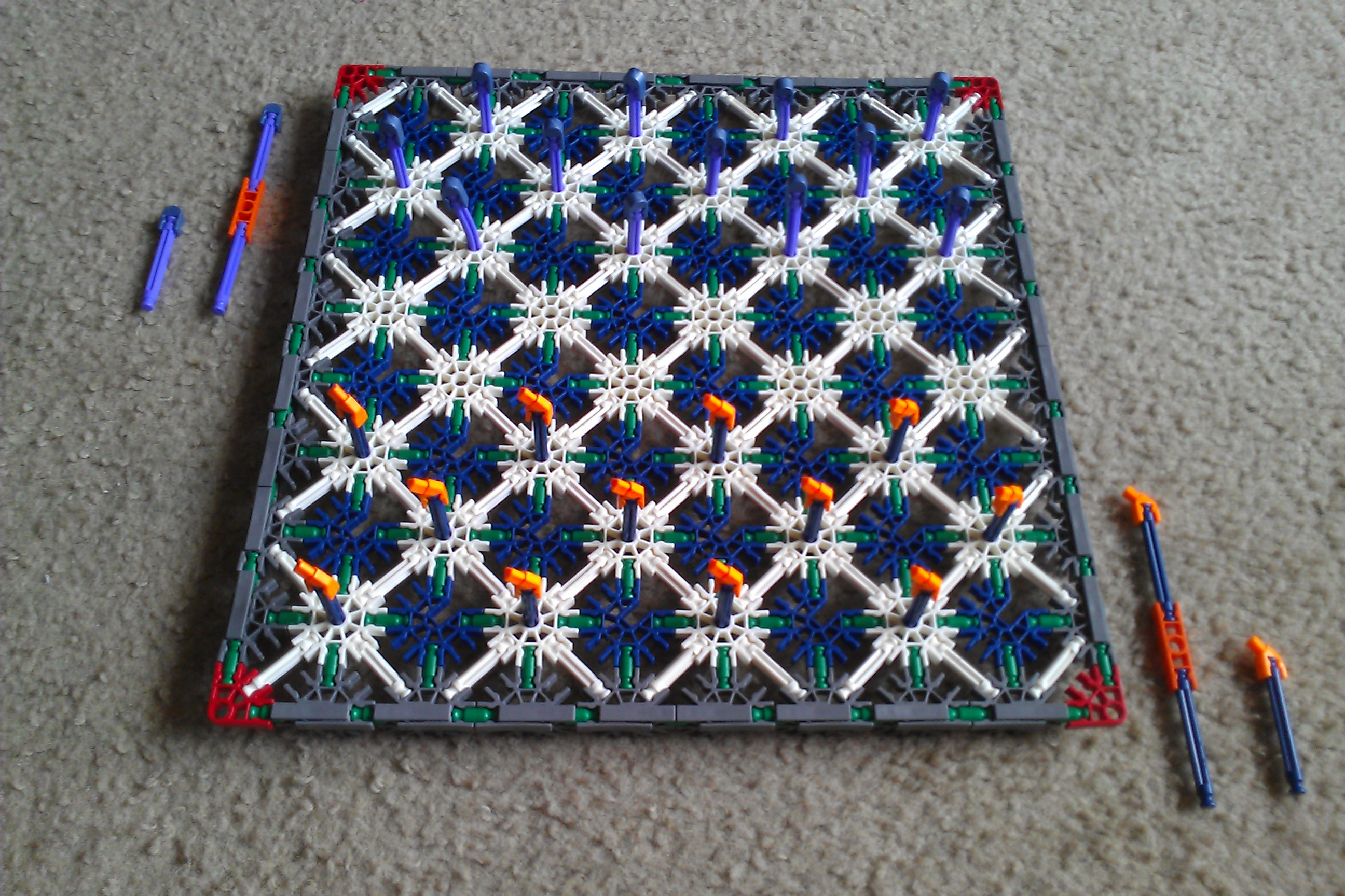 Picture of Checkers: K'nex Style!