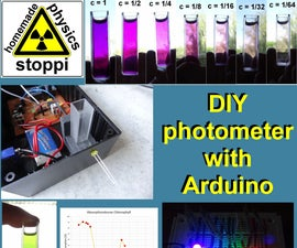 DIY LED-photometer With Arduino for Physics or Chemistry Lessons