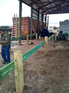 Digg'in, Placing Posts and Floor Framing