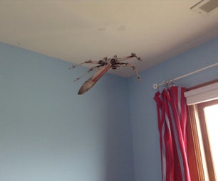 X Wing Room Decoration