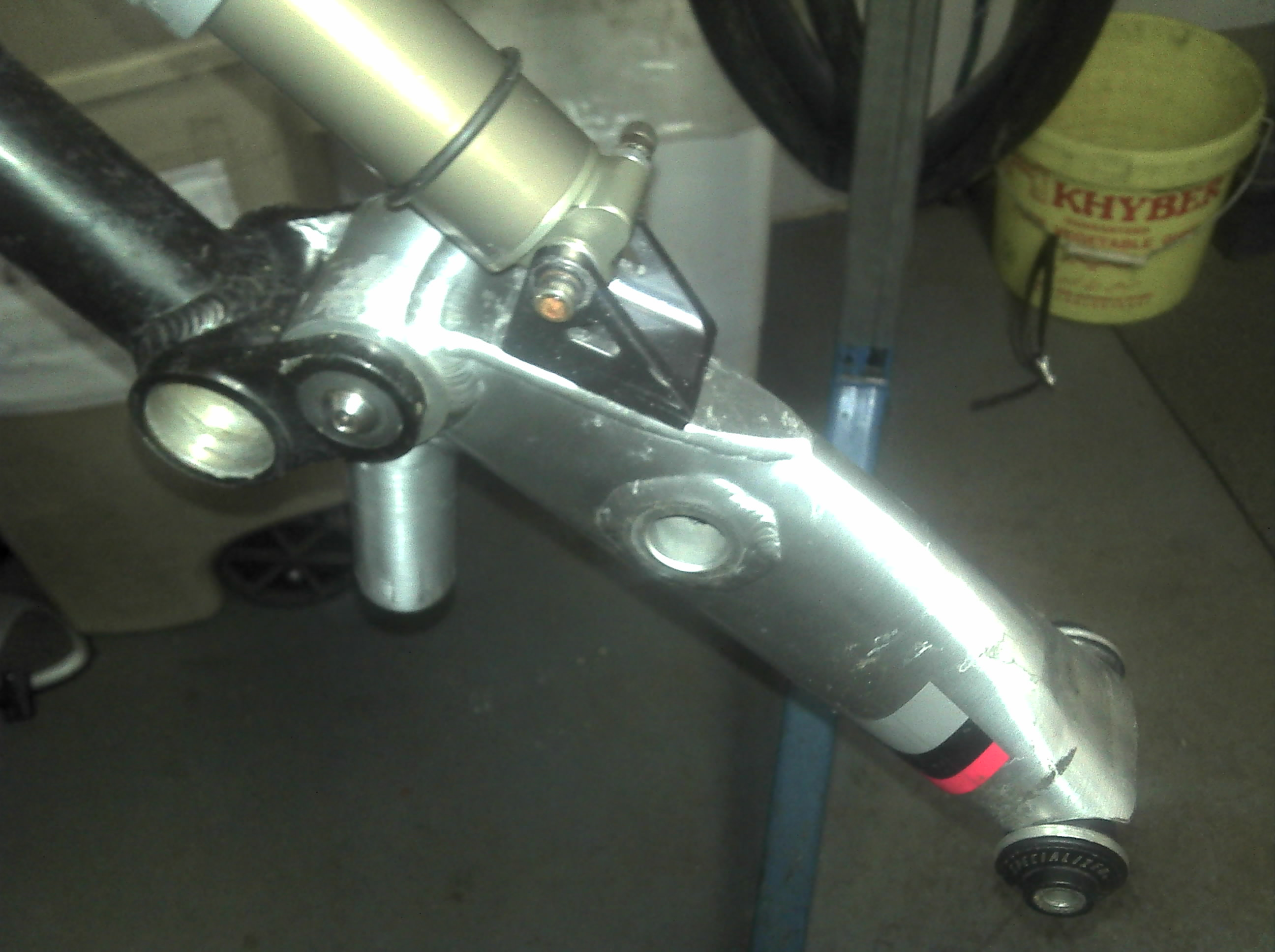 Picture of Positioning the Shock, Swingarm, 2nd Shock Mount and Rear Ski Pivot