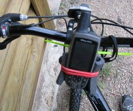 Homemade GPS Bike Mount