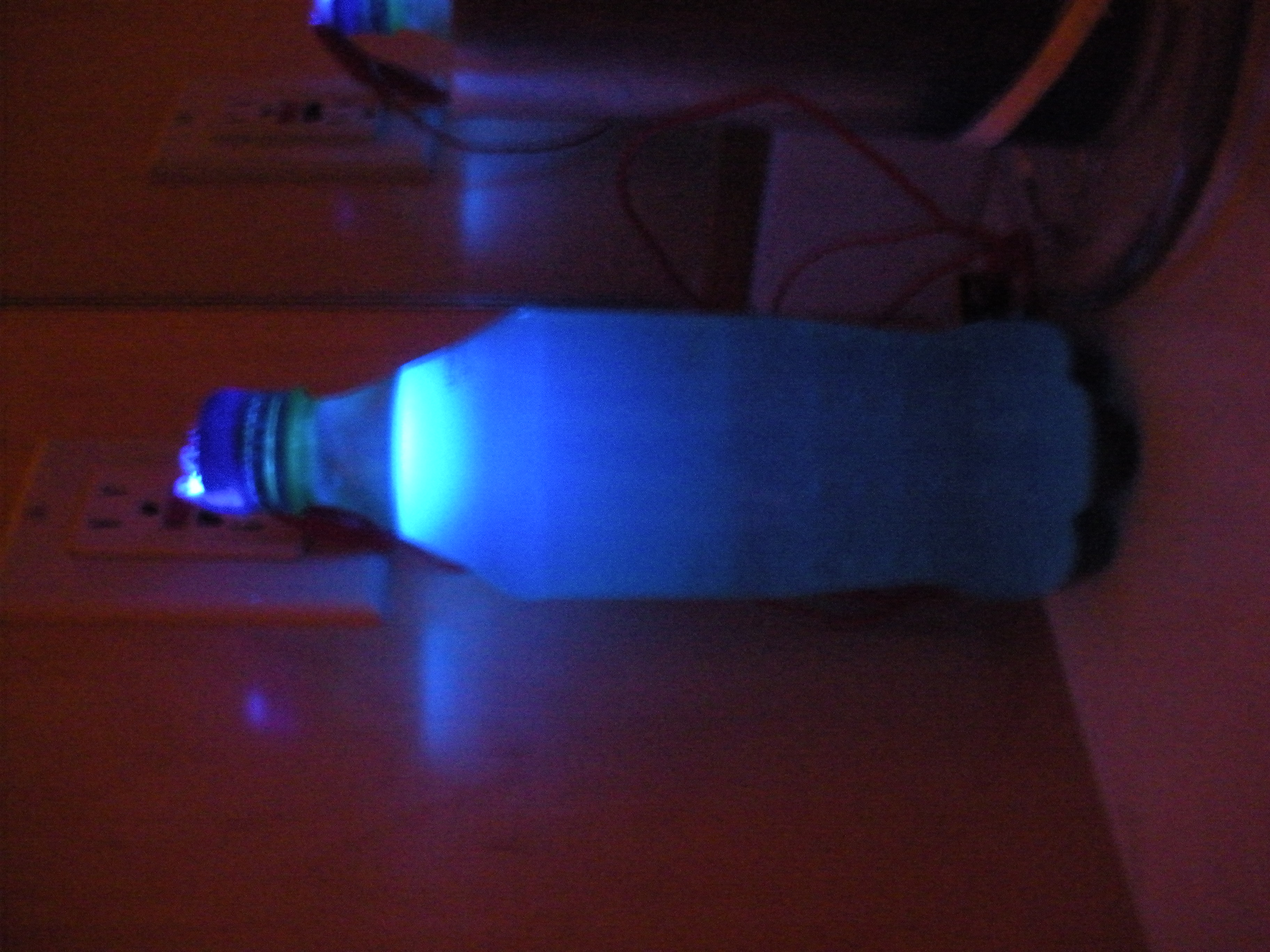 Picture of Sprite Bottle Lamp