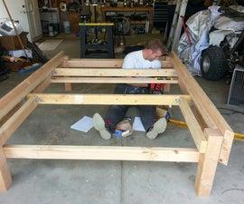 Platform/storage Bed Frame