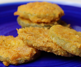 Quick & Easy Fried Pickles