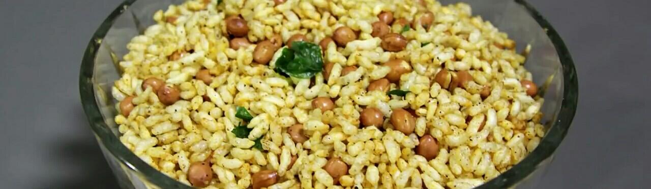 Picture of Puffed Rice or Murmura Namkeen