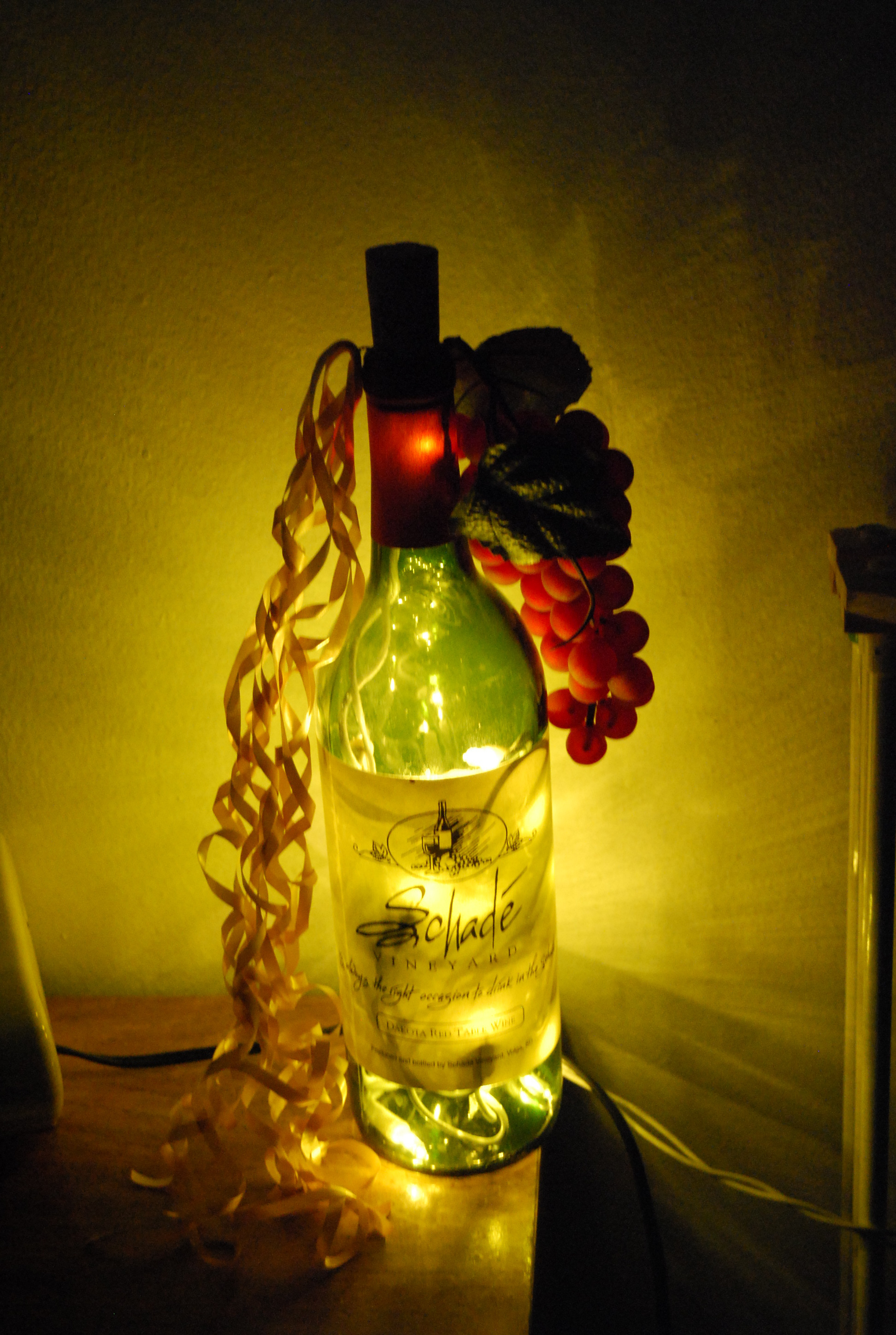 Picture of Light Up Wine Bottle