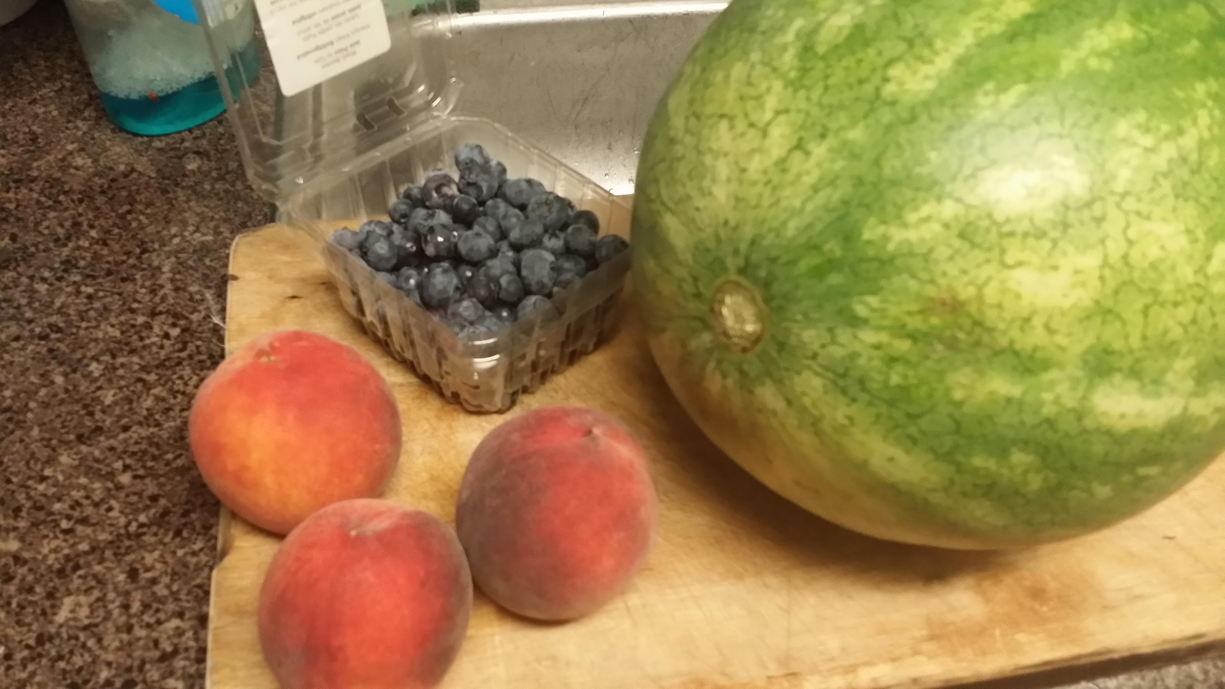 Picture of Preparing the Watermelon