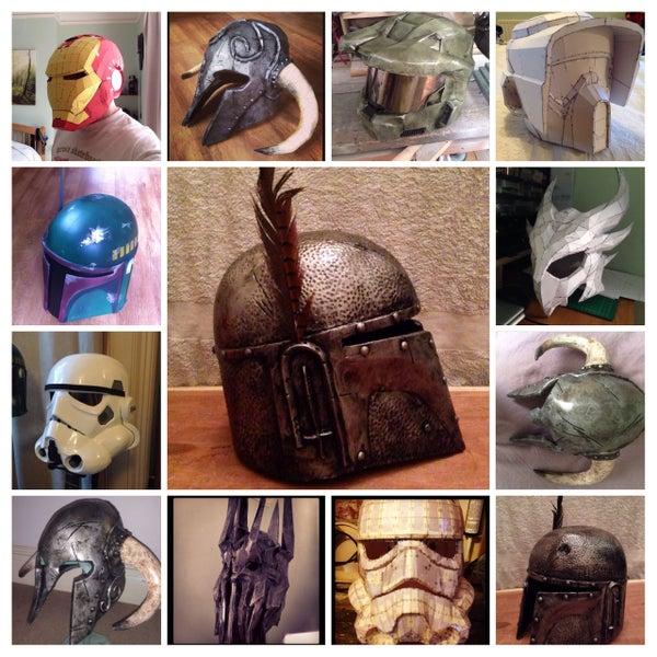 Pepakura Helmets