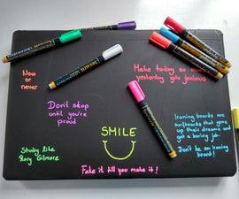 Chalkboard Laptop Cover