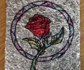 Tin Foil Stained Glass