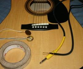 Acoustic Guitar Diy Piezo Pickups