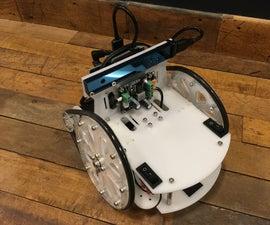 SAWR Simple Autonomous Wheeled Robot
