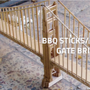 BBQ Sticks Golden Gate Bridge