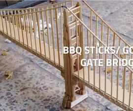 BBQ Sticks Golden Gate Bridge