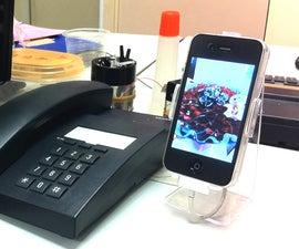 iPhone stand (great professional looking)