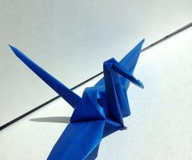 Make An Origami Swan!