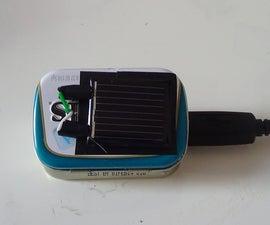 Altoids Smalls Solar Powered USB Charger