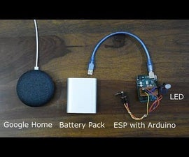 Expanding Voice Commands for Visually Impaired Interfacing Google Home With Arduino Using Webhooks