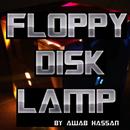 Floppy Disk Lamp