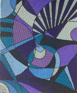 Quilled Mesmerising Blues