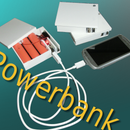 4000mAh - USB Powerbank Out of the Trash Can