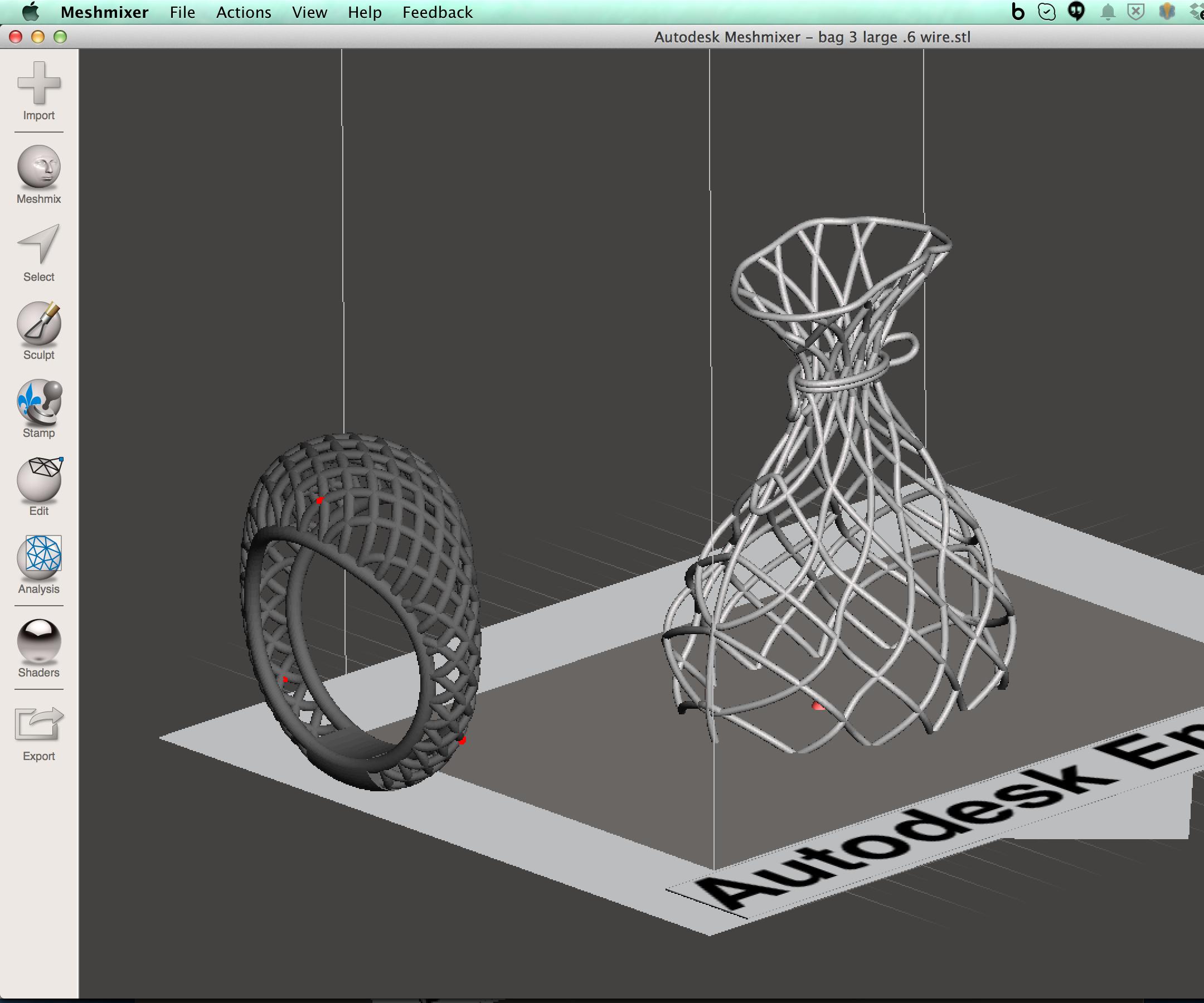 Meshmixer: Importing 3D Models : 3 Steps