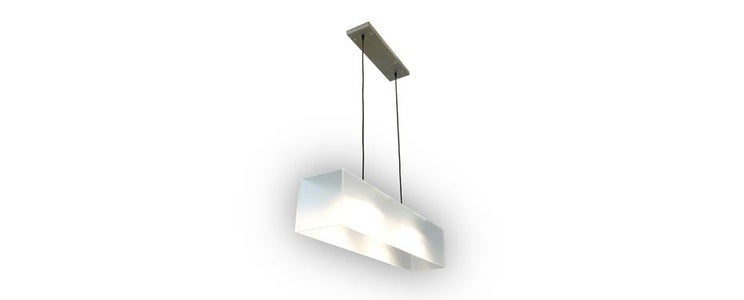 Modern Frosted Acrylic Pendant Lamp