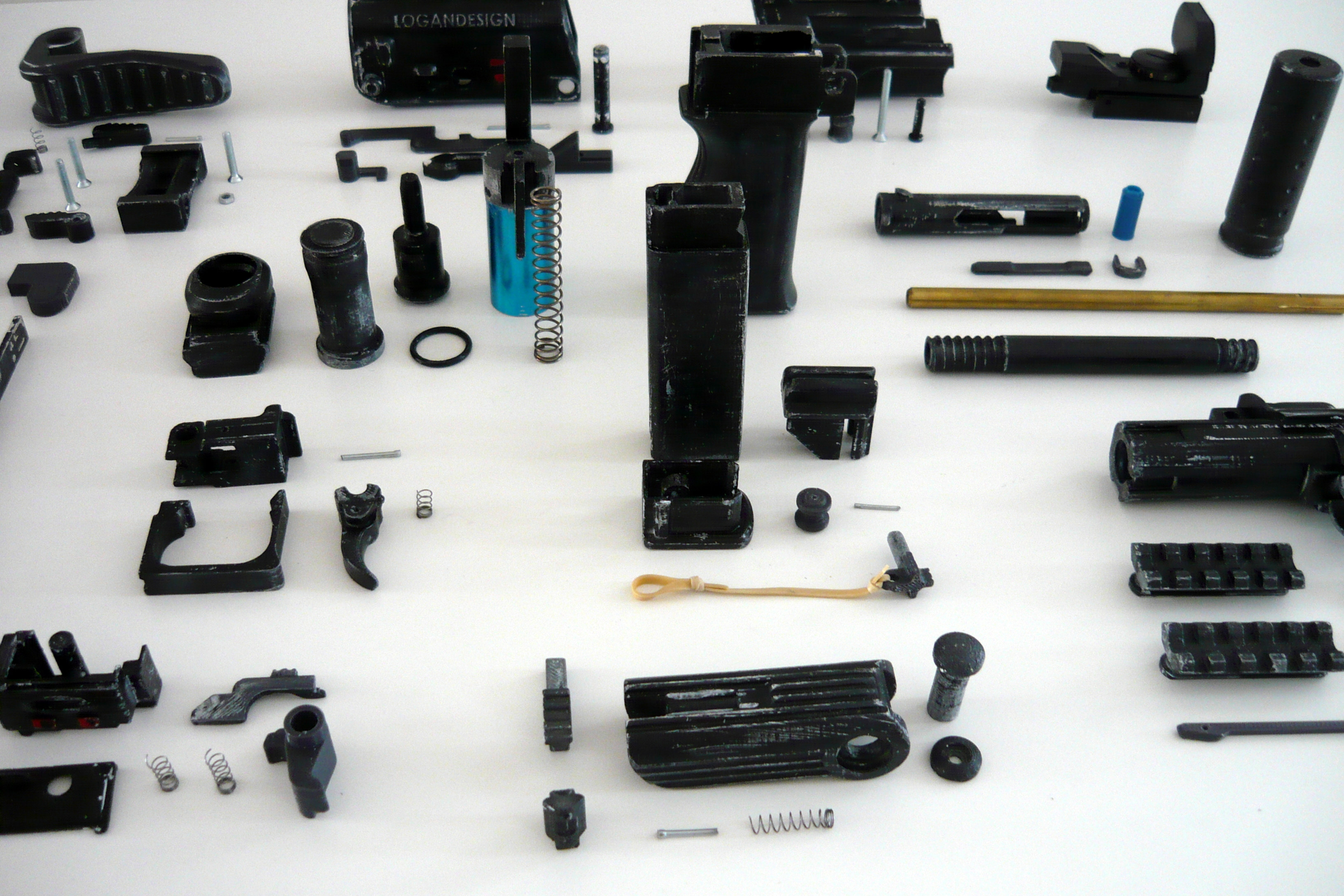 Picture of Printing and Collecting Parts