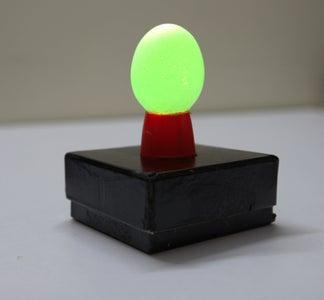 DIY Egg Shell Mood Lamp